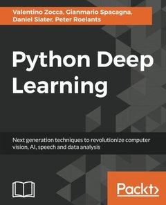 Python Deep Learning (Paperback)-cover