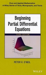 Beginning Partial Differential Equations, 3/e (Hardcover)-cover
