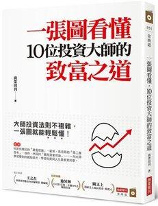一張圖看懂 10位投資大師的致富之道-cover