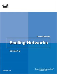 Scaling Networks v6 Course Booklet (Course Booklets)-cover