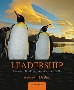 Leadership: Research Findings, Practice, and Skills, 8/e (Paperback)-cover