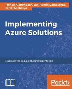 Implementing Azure Solutions-cover