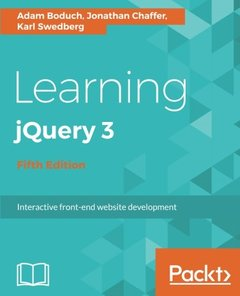 Learning jQuery 3 - Fifth Edition-cover