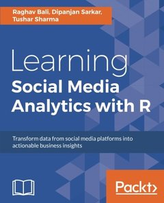Learning Social Media Analytics with R-cover