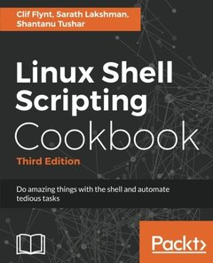 Linux Shell Scripting Cookbook - Third Edition-cover