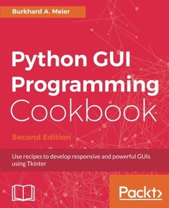 Python GUI Programming Cookbook - Second Edition-cover