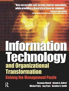 Information Technology and Organizational Transformation-cover