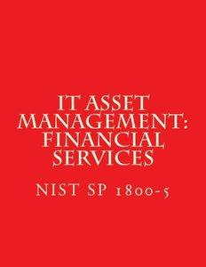 IT Asset Management: Financial Services NIST SP 1800-5: Practice Guide (Draft Jan 2016)-cover