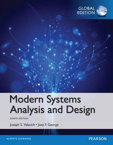Modern Systems Analysis and Design, 8/e (IE-Paperback)-cover