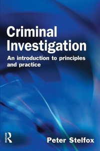 Criminal Investigation: An Introduction to Principles and Practice-cover