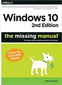 Windows 10: The Missing Manual: The book that should have been in the box ,2e-cover