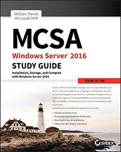 MCSA Windows Server 2016 Study Guide: Exam 70-740-cover