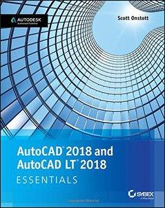 AutoCAD 2018 and AutoCAD LT 2018 Essentials-cover