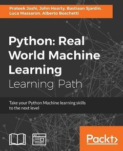 Python: Real World Machine Learning-cover
