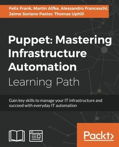 Puppet: Mastering Infrastructure Automation-cover