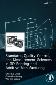 Standards, Quality Control, and Measurement Sciences in 3D Printing and Additive Manufacturing-cover