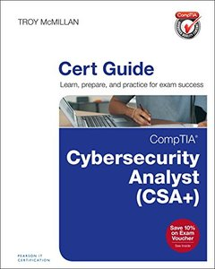 CompTIA Cybersecurity Analyst (CSA+) Cert Guide (Certification Guide)-cover