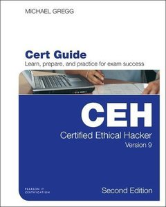 Certified Ethical Hacker (CEH) Version 9 Pearson uCertify Course Student Access Card (Certification Guide)-cover