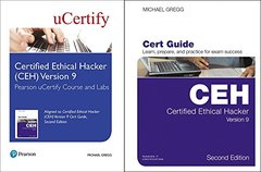 Certified Ethical Hacker (CEH) Version 9 Pearson uCertify Course and Labs and Textbook Bundle (2nd Edition) (Certification Guide)-cover