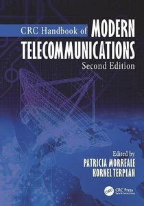 CRC Handbook of Modern Telecommunications, Second Edition-cover