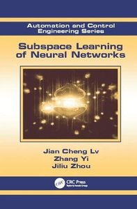 Subspace Learning of Neural Networks (Automation and Control Engineering)-cover