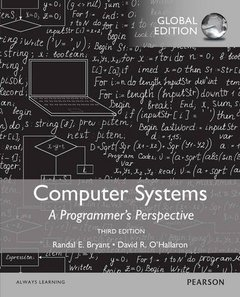Computer Systems: A Programmer's Perspective, 3/e (IE-Paperback)-cover