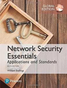 Network Security Essentials: Applications and Standards, 6/e (GE-Paperback)