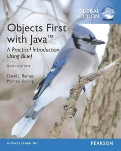 Objects First With Java: A Practical Introduction Using Bluej GE 6/e-cover