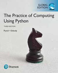 The Practice of Computing Using Python, 3/e (GE-Paperback)-cover
