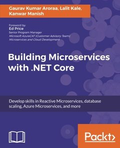 Building Microservices with  .NET Core-cover