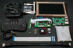樹莓派3 螢幕鍵盤懶人包完美套餐 / 入門學習套件-cover