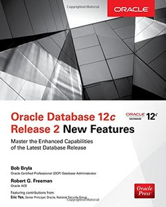 Oracle Database 12c Release 2 New Features (Oracle Press)-cover