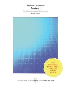 Fortran for Scientists and Engineers, 4/e (IE-Paperback)-cover