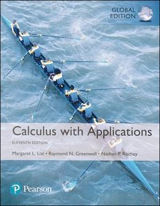 Calculus with Applications, 11/e (IE-Paperback)-cover