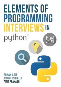 Elements of Programming Interviews in Python: The Insiders' Guide-cover