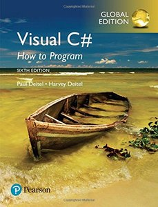 Visual C# How to Program, 6/e (IE-Paperback)