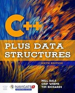 C++ Plus Data Structures, 6/e (Hardcover)-cover