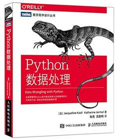 Python 數據處理 (Data Wrangling with Python)-cover