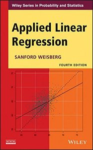 Applied Linear Regression, 4/e (Hardcover)-cover