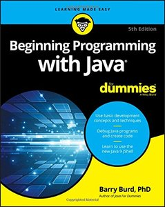 Beginning Programming with Java For Dummies (For Dummies (Computers))-cover