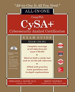 CompTIA CSA+ Cybersecurity Analyst Certification All-in-One Exam Guide (Exam CS0-001)-cover
