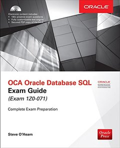 OCA Oracle Database SQL Exam Guide (Exam 1Z0-071) (Oracle Press)-cover