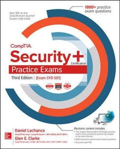 CompTIA Security+ Certification Practice Exams, 3/e (Exam SY0-501) (Paperback)-cover