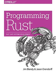 Programming Rust: Fast, Safe Systems Development-cover