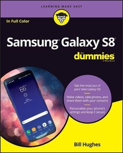 Samsung Galaxy S8 For Dummies (For Dummies (Computer/Tech))-cover