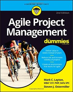 Agile Project Management For Dummies (For Dummies (Computer/Tech))-cover