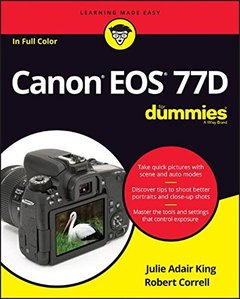 Canon EOS 77D For Dummies (For Dummies (Computer/Tech))-cover