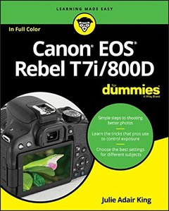 Canon EOS Rebel T7i/800D For Dummies (For Dummies (Computer/Tech))-cover