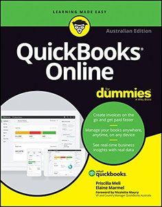 QuickBooks Online For Dummies Australian Edition (For Dummies (Computer/Tech))-cover