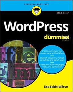 WordPress For Dummies (For Dummies (Computer/Tech))-cover